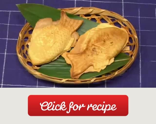 How To Make Taiyaki (Fish-Shaped Cake Recipe) A recipe by Cooking with Dog (YouTube Channel)