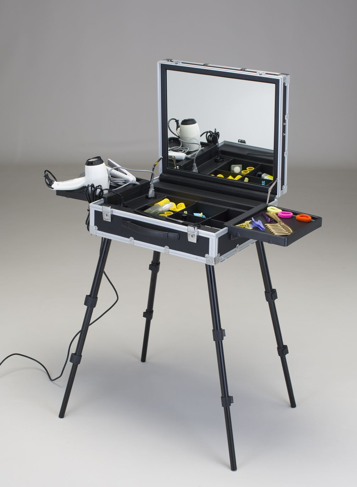 Portable Tattoo Workstation Studio Compact Stand Table Travel