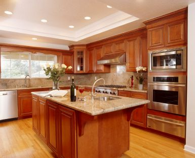 Contemporary Restaining Kitchen Cabinets Fascinating Restaining Kitchen Cabinets