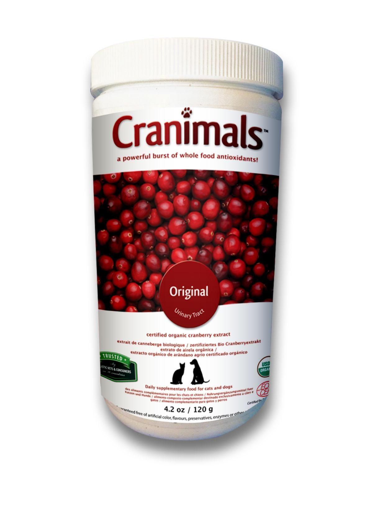 Cranimals Original Uti Supplement By Cranimals Cranberry Supplements Dog Supplements Urinary Tract