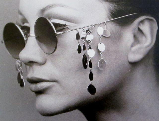 Occhiali con le lacrime Gastone Novelli Style