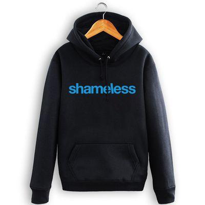 New Shameless Hoodies LIP Hooded Men Casual cotton Fall / Winter warm Sweatshirts S-3XL