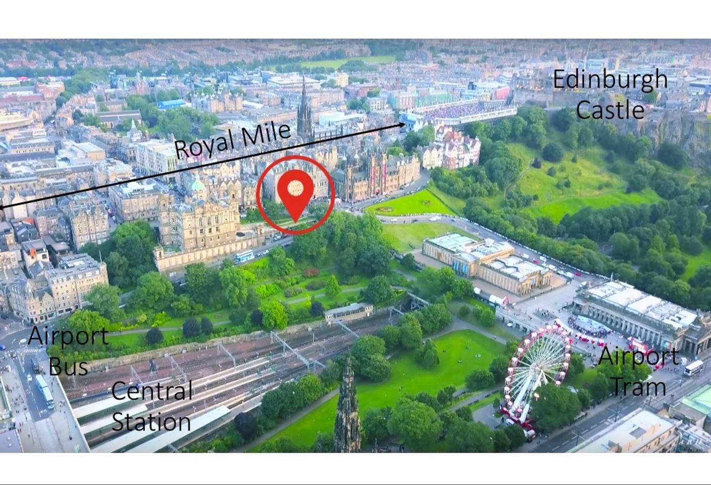 Your retreat in center of Edinburgh's UNESCO Site ...