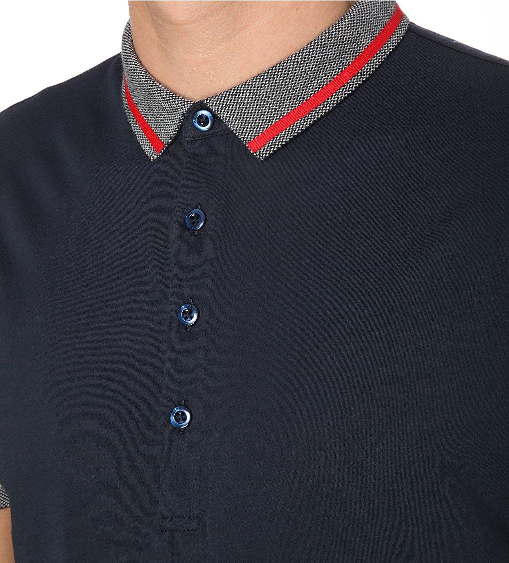 HUGO BOSS - Contrast-trim cotton-piqué polo shirt | Selfridges.com |  cuellos/detalles/costuras | Pinterest | Hugo boss, Polo shirts and Polos