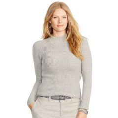 Ribbed Merino Wool Sweater - Lauren Woman Sweaters - RalphLauren.com