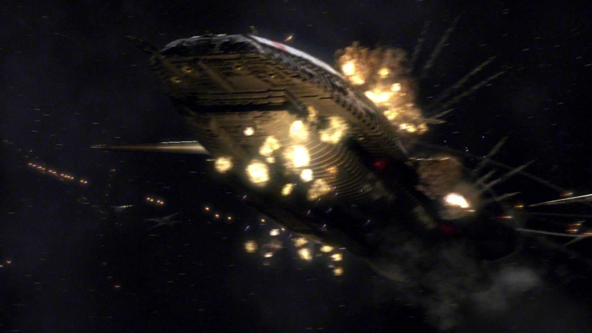 Liberating New Caprica A Bad Day For Galactica And A Good Day