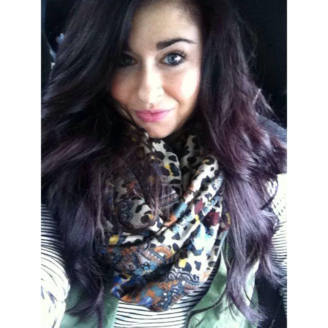 Dark Red Violet Brown Argan Oil Hair Color Nemetas Aufgegabelt Info