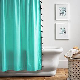 Teen Shower Curtains Pbteen Green Shower Curtains Teen Shower