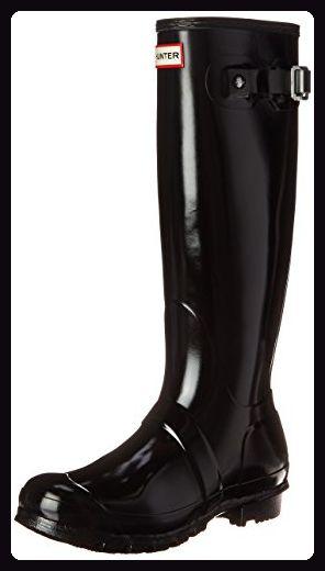 dd7e058e2850 Hunter Wmn Org Tall Gloss, Damen Gummistiefel, Schwarz (Black), 39 EU -  Stiefel für frauen ( Partner-Link)