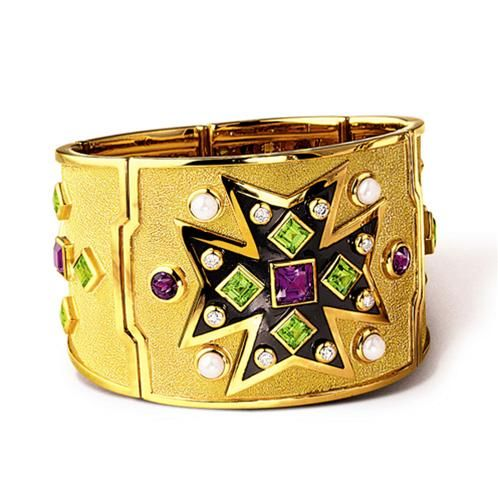 6613c35940adb VERDURA - Maltese Cross Bracelet - Iconic Maltese Cross motif in ...
