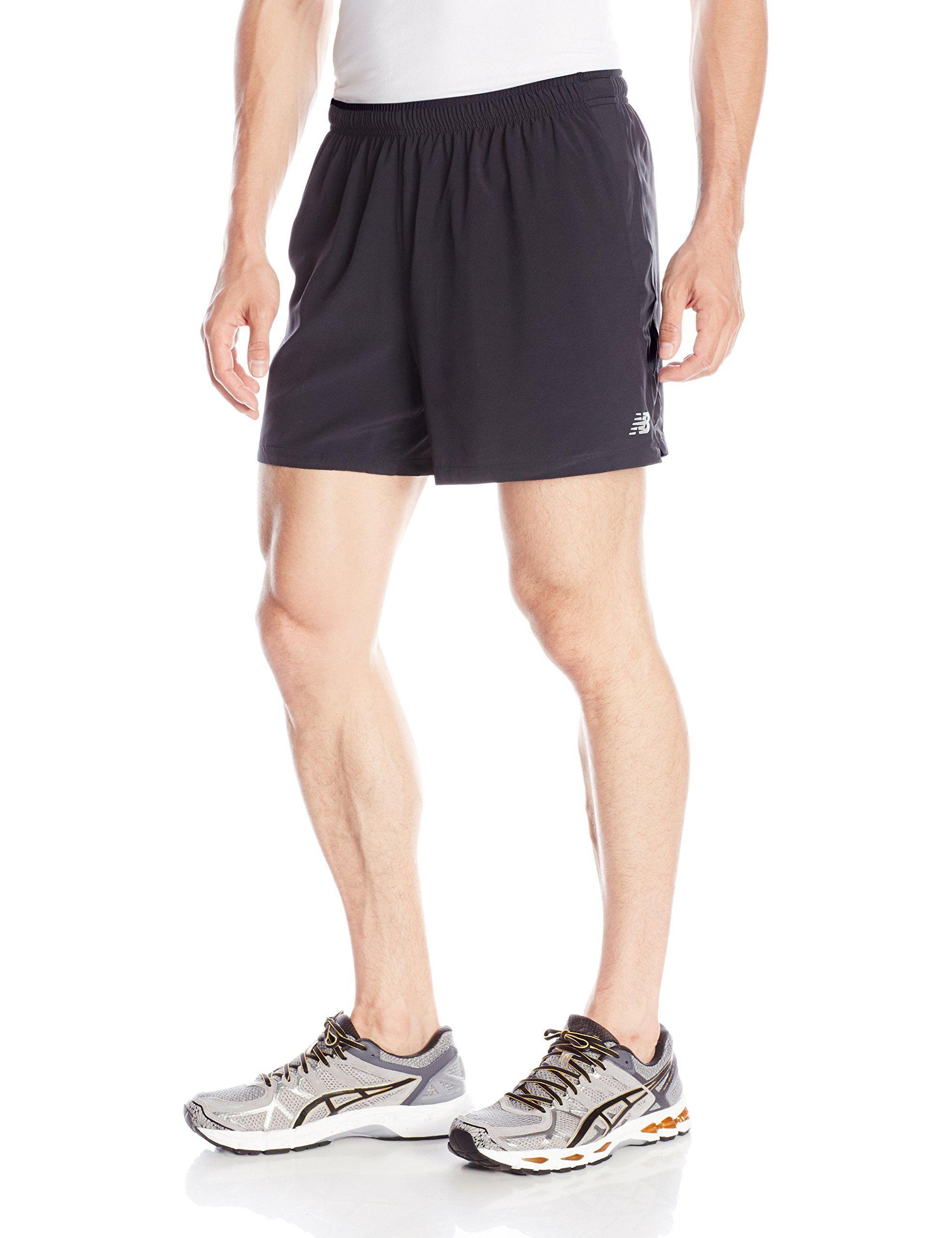 New Balance Short 5 Impact Running Hombre