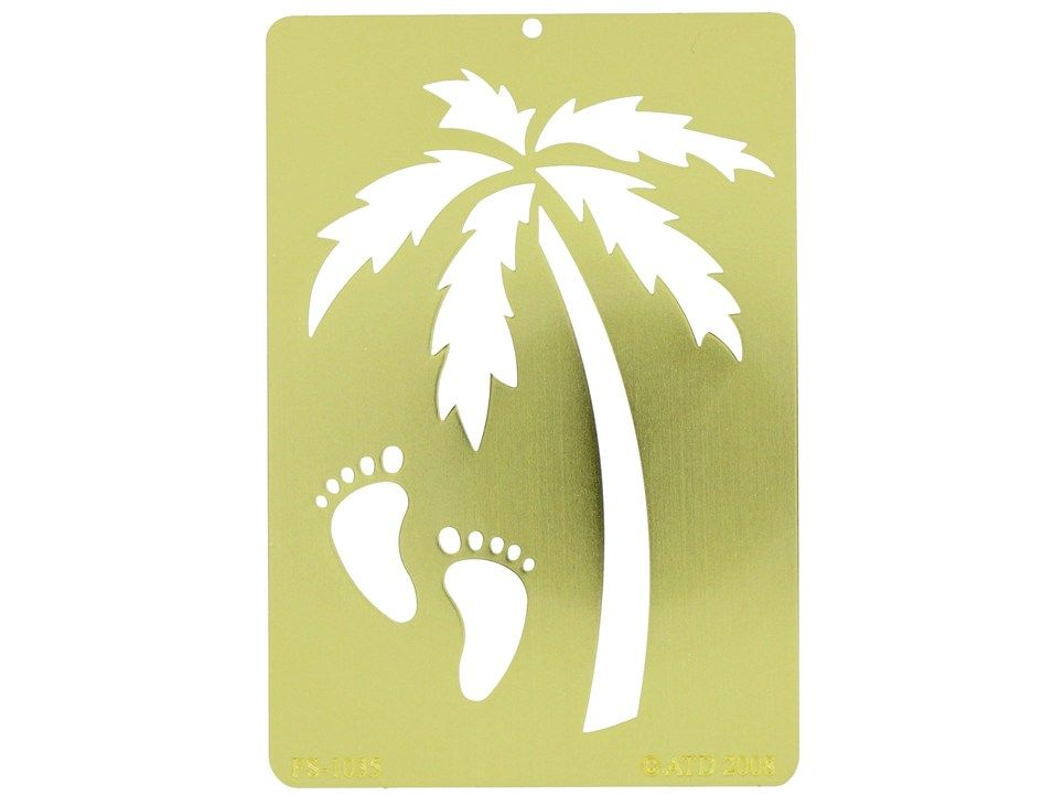 palm tree stencils large Palm Tree Stencil Printable stencil