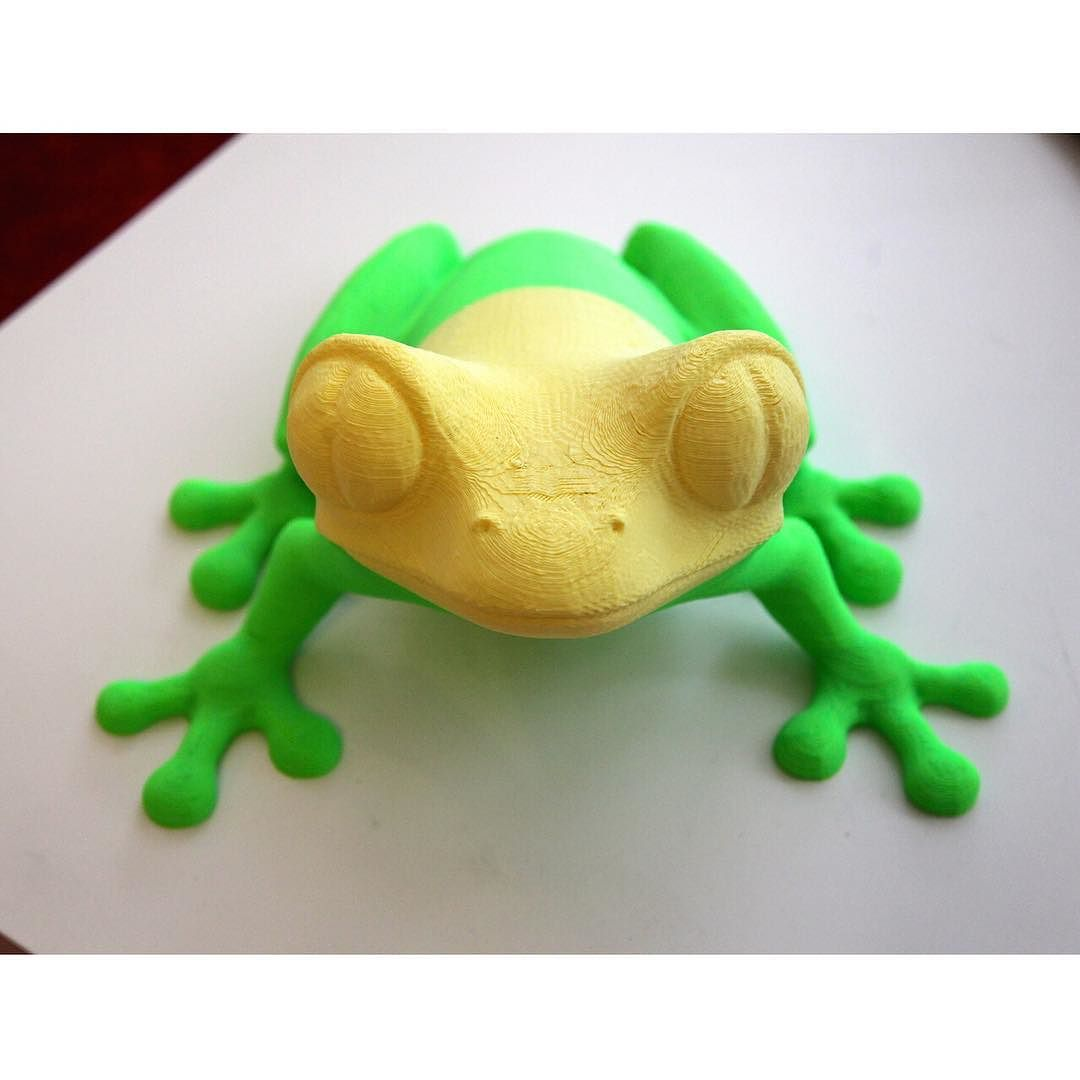 Cool 3D printed frog!  #threeate #marketplace #3dprinting #3dprintingthreeate #3dprint #3dprints #3dprinted #3d  #3dmodel #3dmodels #printable3dmodels  #designer #3ddesigner #3ddesigners #3dstudio #3dprintingstudio #3dprintingservice #3dprintingservices #3dprintingshop #3dprintinglife #3dprintingindustry #3dprintingexperience #dutch by threeate