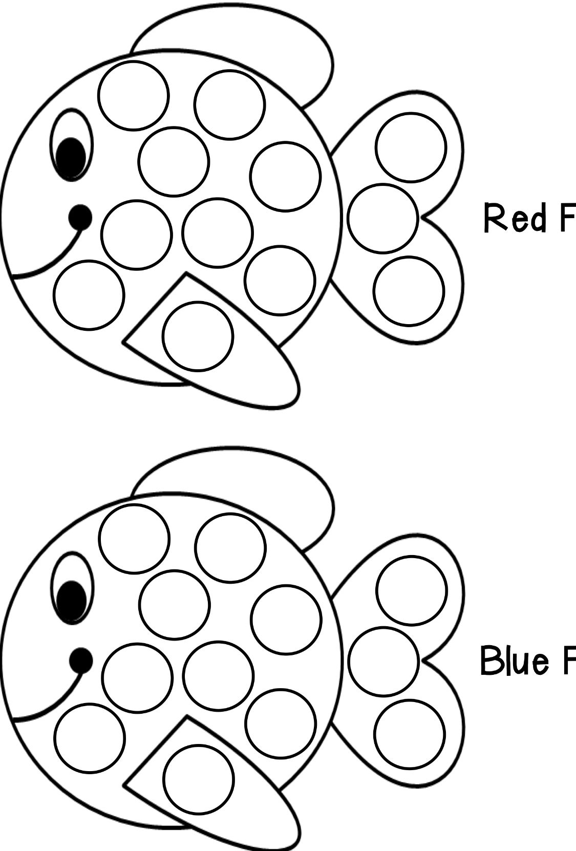 Ladybug Dot Painting Coloring Page Vozeli Com
