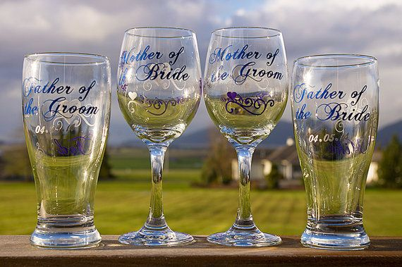 Mother Of The Groom Gift: Mother Of The Bride Father Of The Groom Beer By