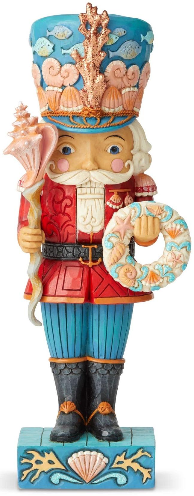 Jim Shore 6004027 Coastal Nutcracker Figurine