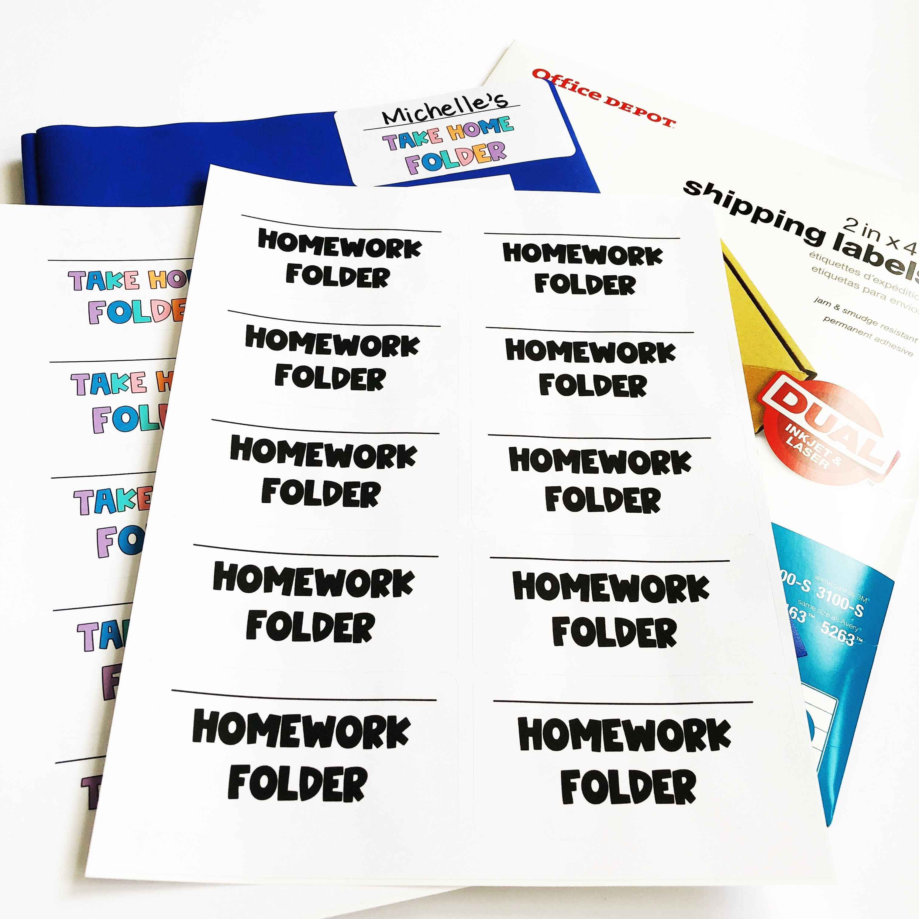 Back To School Editable Templates Classroom Kit