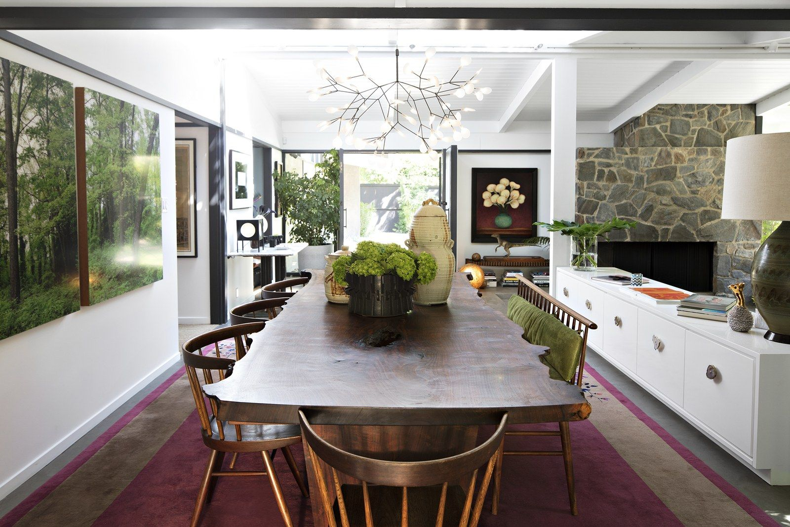 Laura Dern's Rustic Los Angeles Home Is A Film Buff's