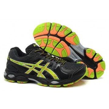 ec3845a649e 135Z Zapatillas Asics Gel-Nimbus 14 Hombre Negro Volt · Running Shoes ...