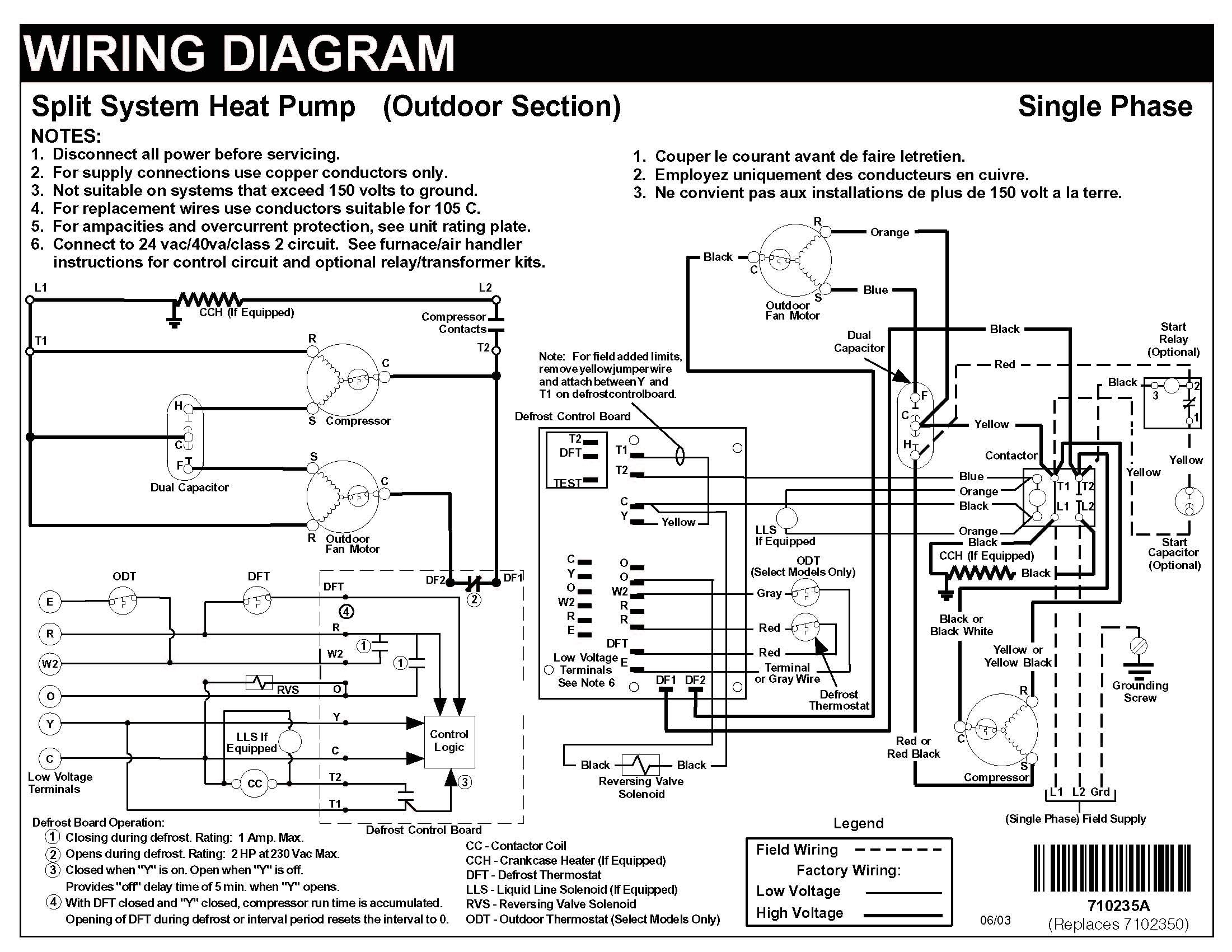 nordyne heat pump wiring diagram nordyne wiring diagrams online