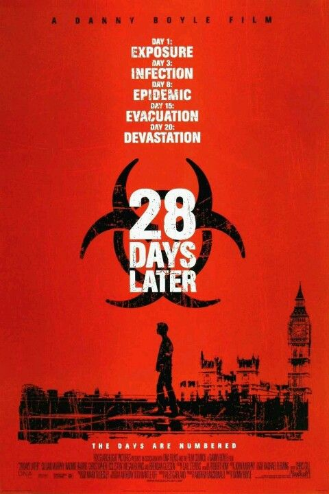 28 Days Later One Of If Not The Best Apocalyptic Outbreak Zombie