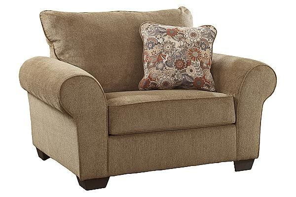 the galand - umber oversized chair from ashley furniture homestore
