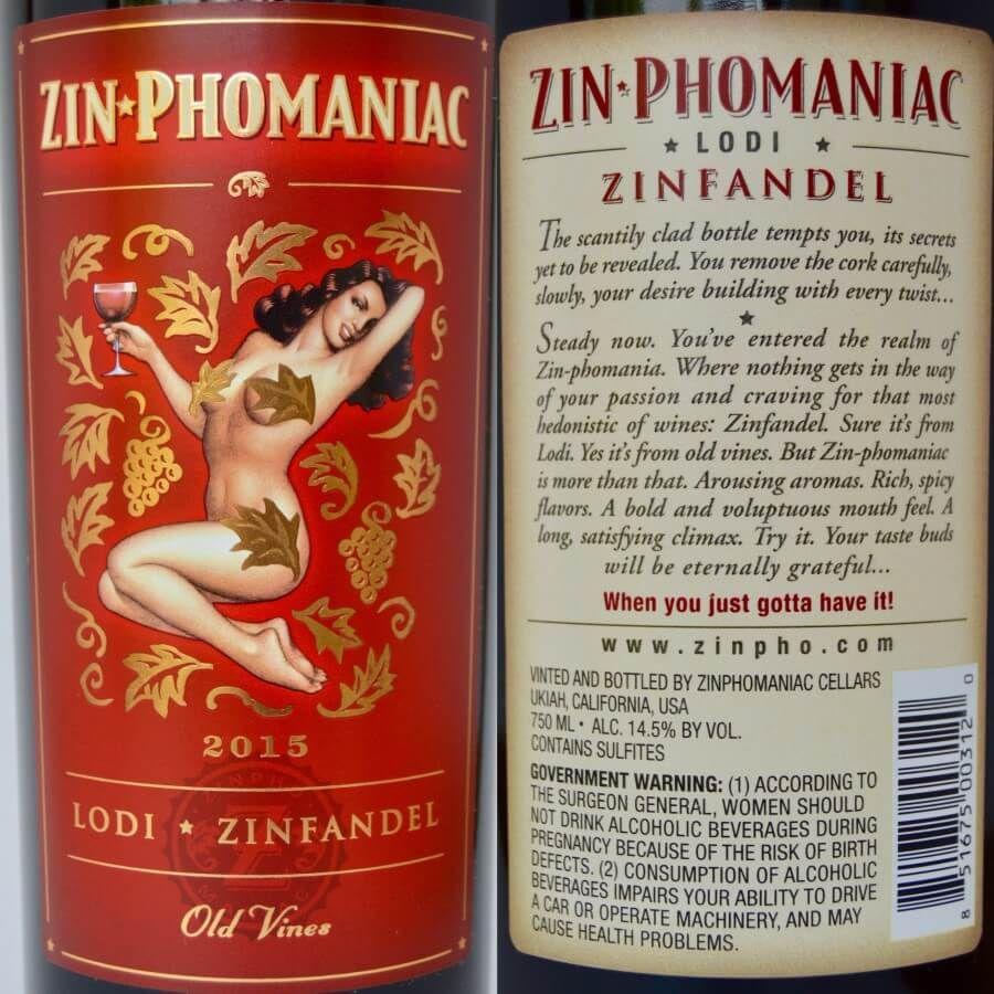 Zin Phomaniac Lodi Zinfandel 2015 Wine Review Wine Reviews Wine How To Remove