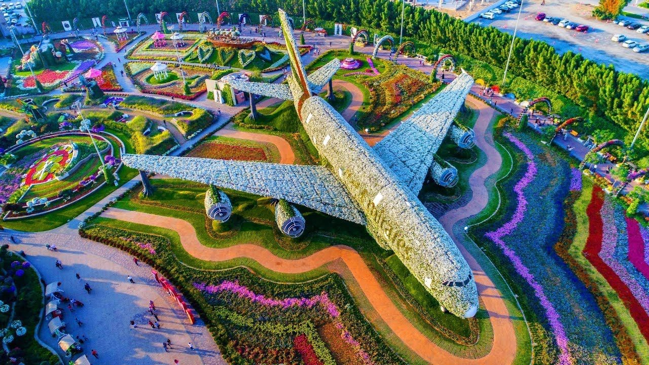 Get the overall Miracle Garden in Dubai Entry Fee, timings