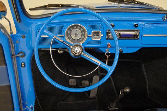 1966 Ford Grabber Blue Vw beetle