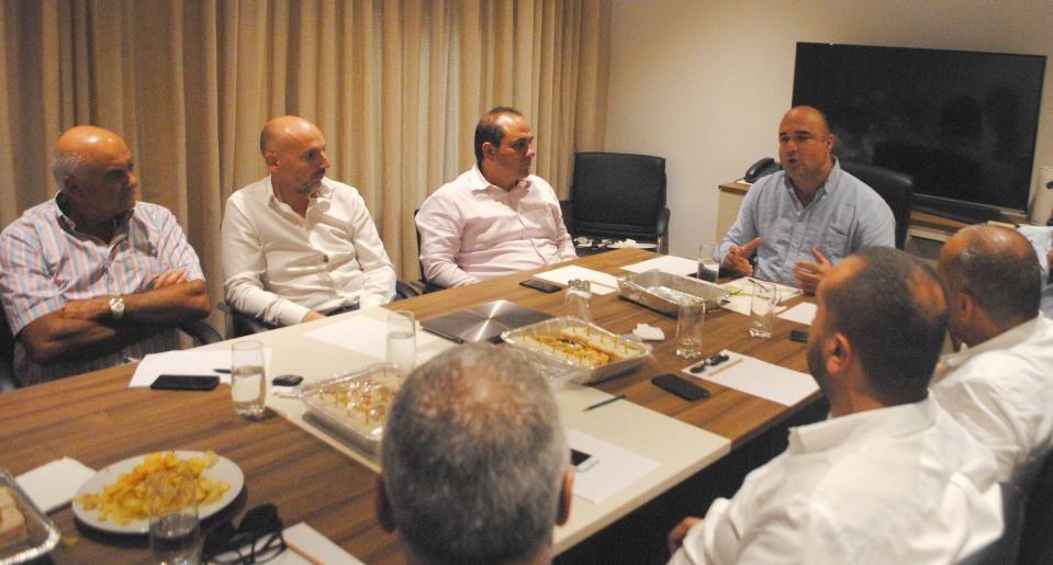 Both PN leadership contenders meet Malta Developers