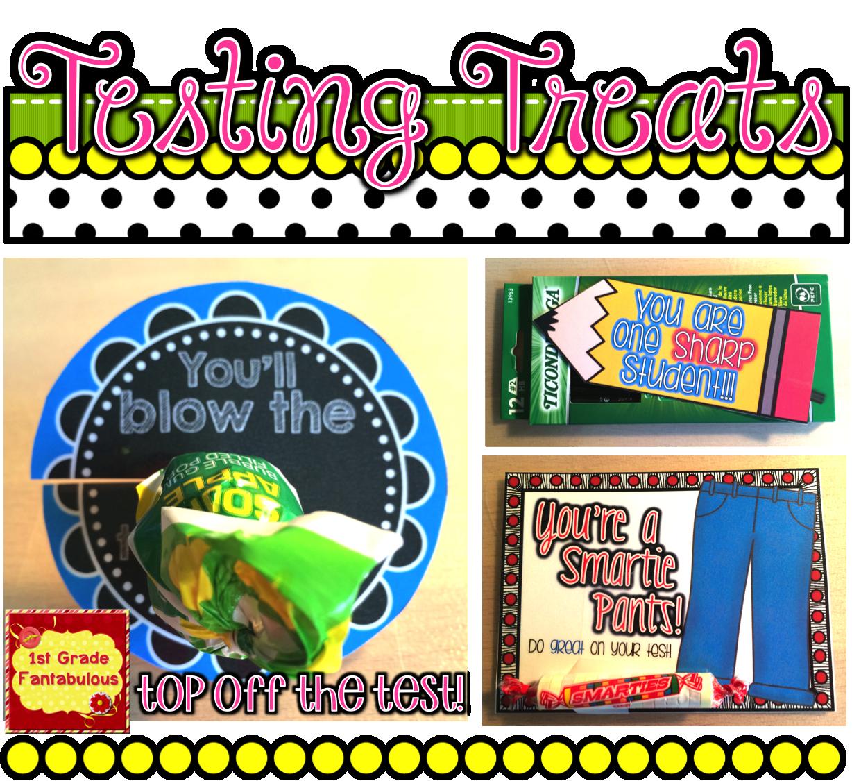 1st Grade Fantabulous Bright Ideas Testing Treats