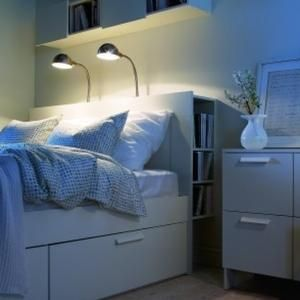 Best Brimnes Bed Headboard From Ikea Lots Of Storage In A 400 x 300