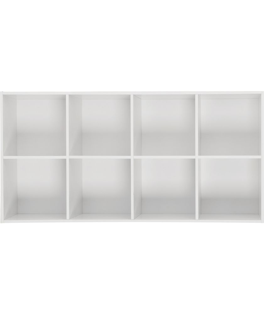 buy phoenix 8 cube storage unit white at. Black Bedroom Furniture Sets. Home Design Ideas