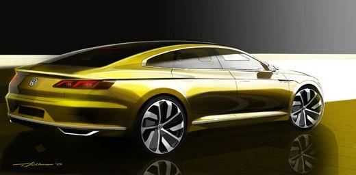 Volkswagen представит наЖеневском автосалоне концептуальное четырёхдверное купе - Автошоу - Cardesign.ru