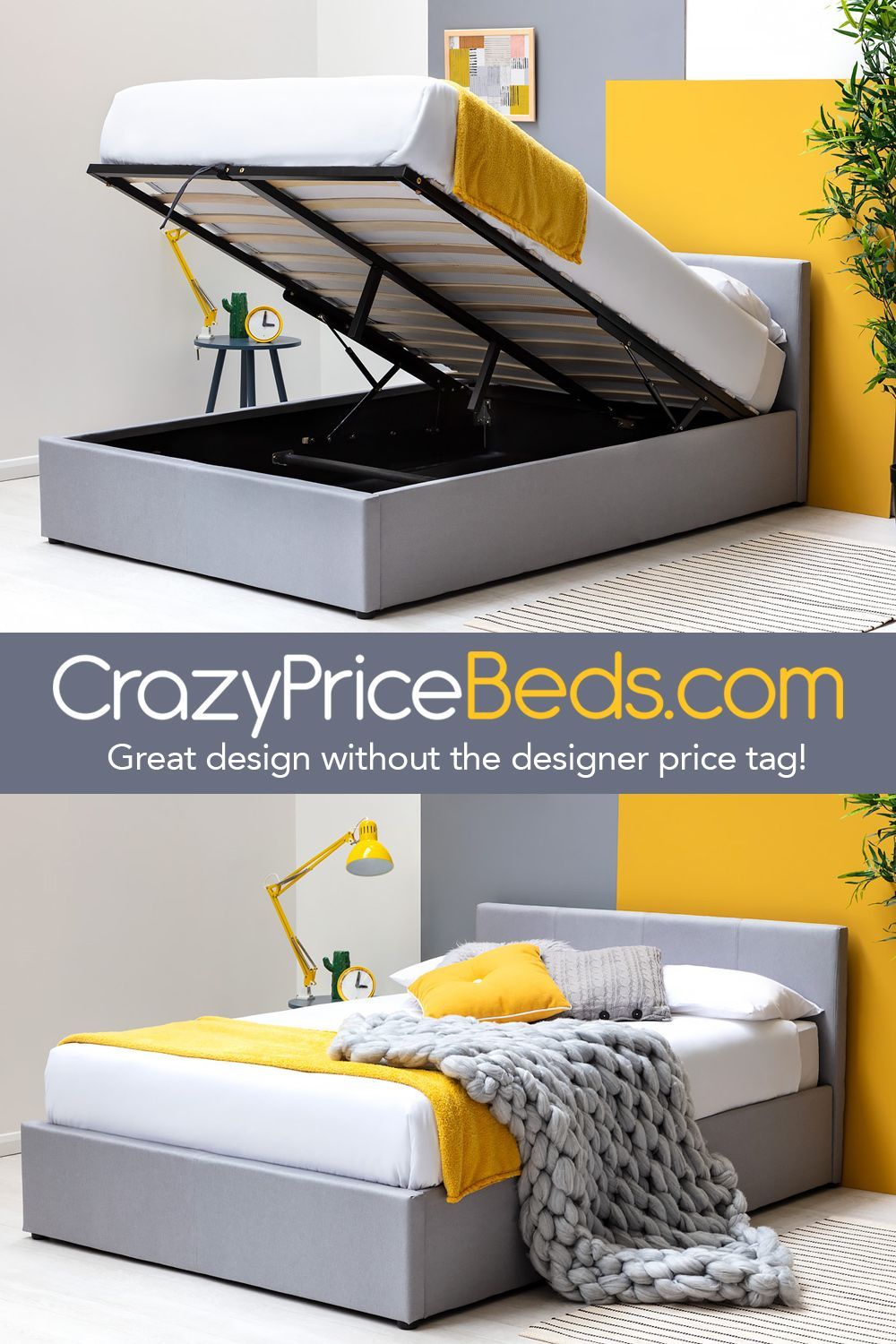 Minimalist And Practical Classic Ottoman Storage Bed Frame