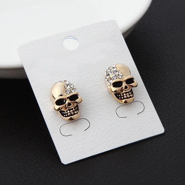 Stone Head Gold Plated