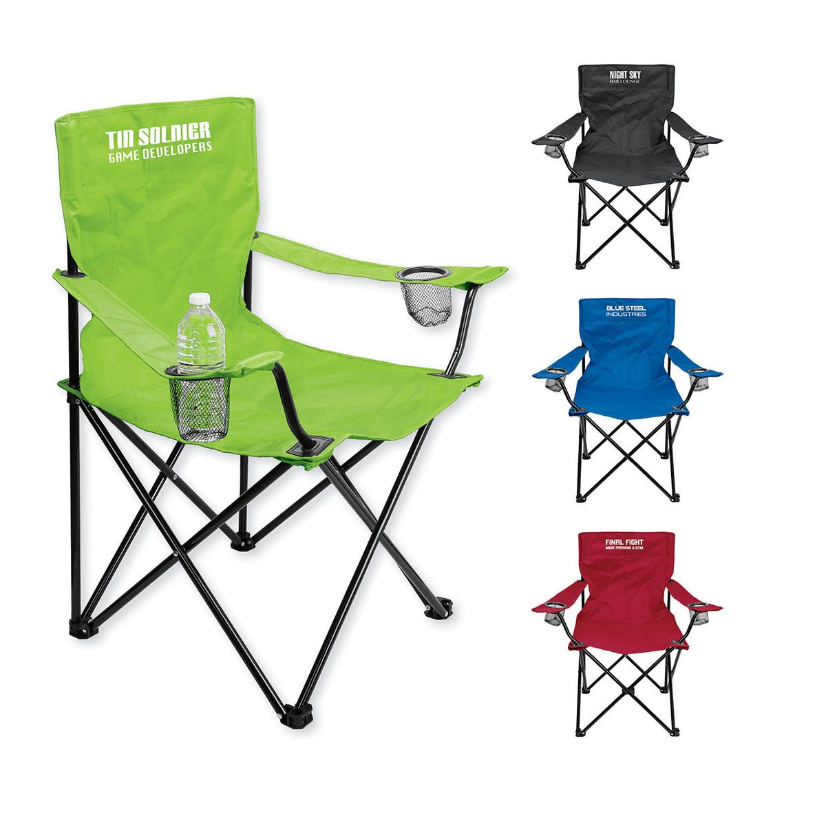 Folding Event Chair with Carrying Bag promotionalproducts