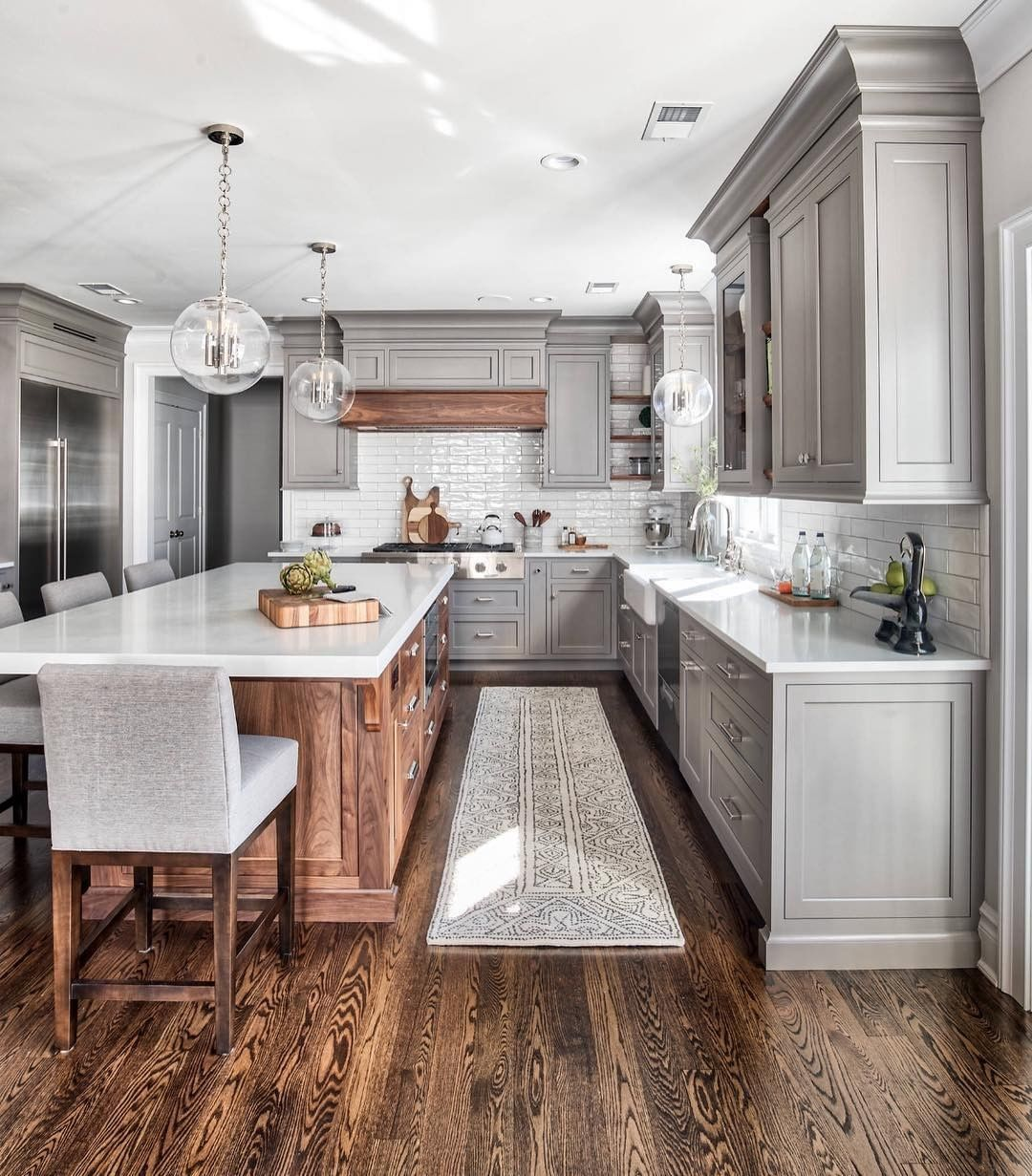 Kitchen Best River White Kitchen Granite Countertop With Backsplash Tile Dark Brown Custom Dark Wood Kitchen Cabinets Custom Kitchen Island Dark Wood Kitchens