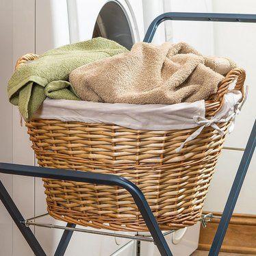 Split Willow Laundry Basket Basket Laundry Large Baskets