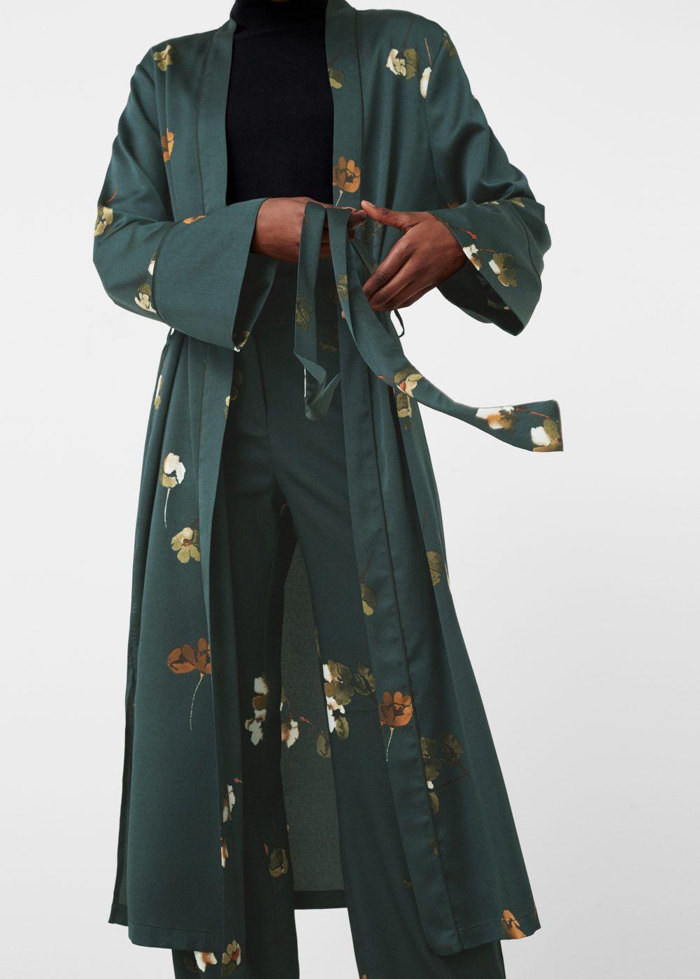 spécial chaussure dernières tendances de 2019 Design moderne Printed robe - Women in 2019 | Fashion, Modern kimono ...