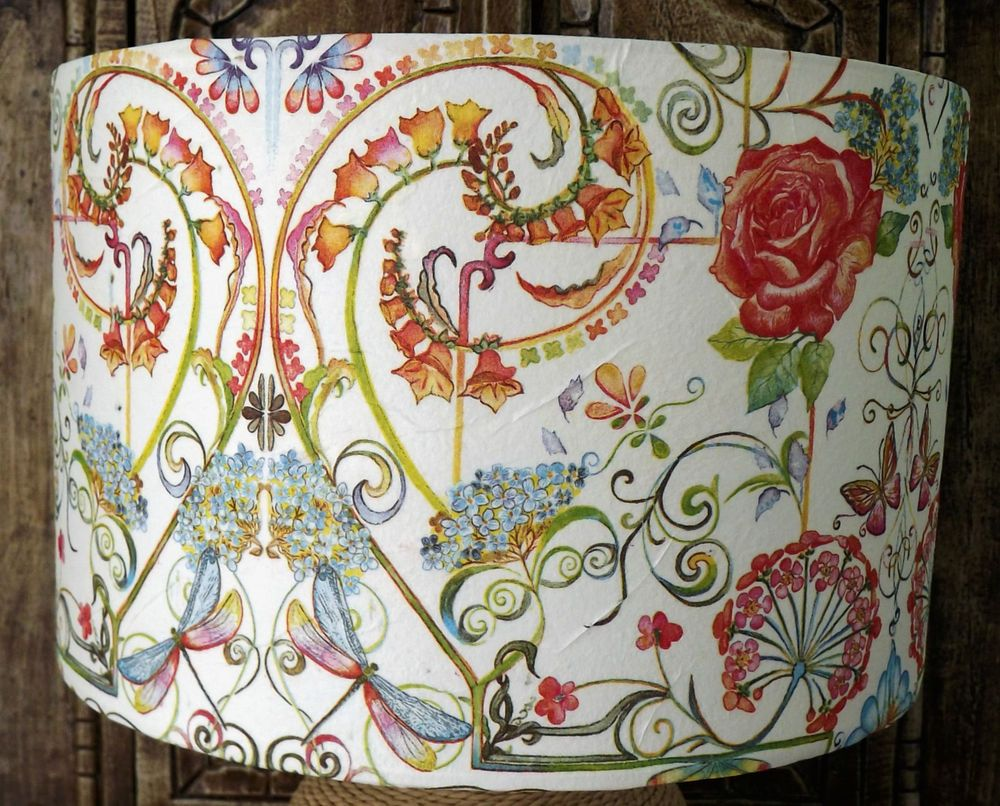 Hippy floral lamp shade lampshade shabby ethnic festival shabby hippy floral lamp shade lampshade shabby ethnic festival shabby chic free gift mozeypictures Image collections