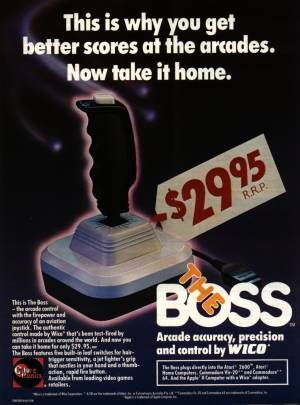 The Boss joystick for the C64. The only joystick that did not break on me.  No good for joystick waggling though! | Joystick, Arcade, The originals