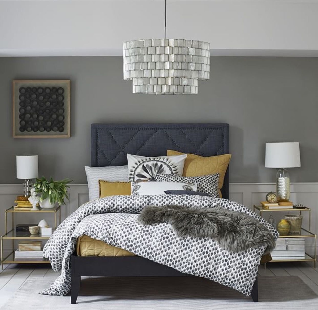 Love Shades Of Greys Master Bedrooms Pinterest