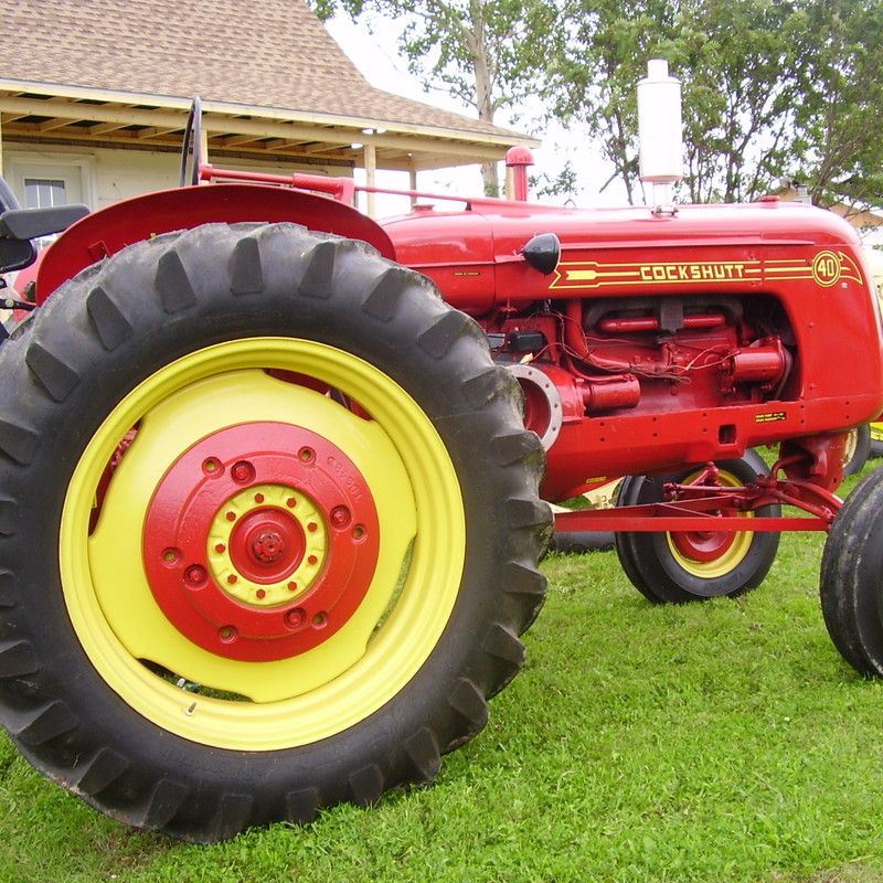 Cockshutt Tractor Parts : Do you think cockshutt deserves to win the steiner