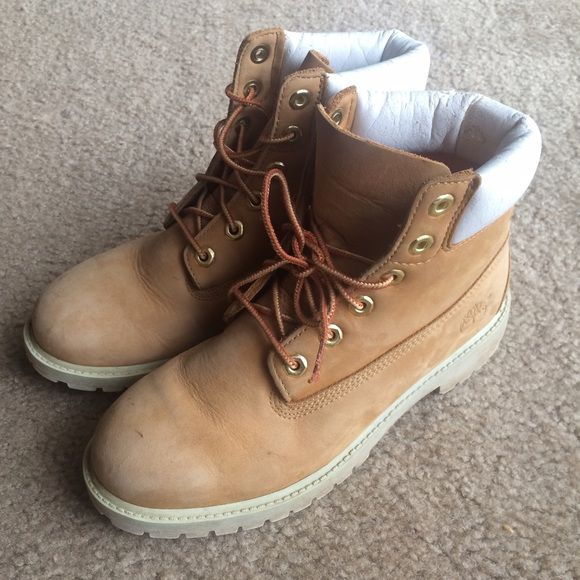 Timberland Boots Slightly Worn