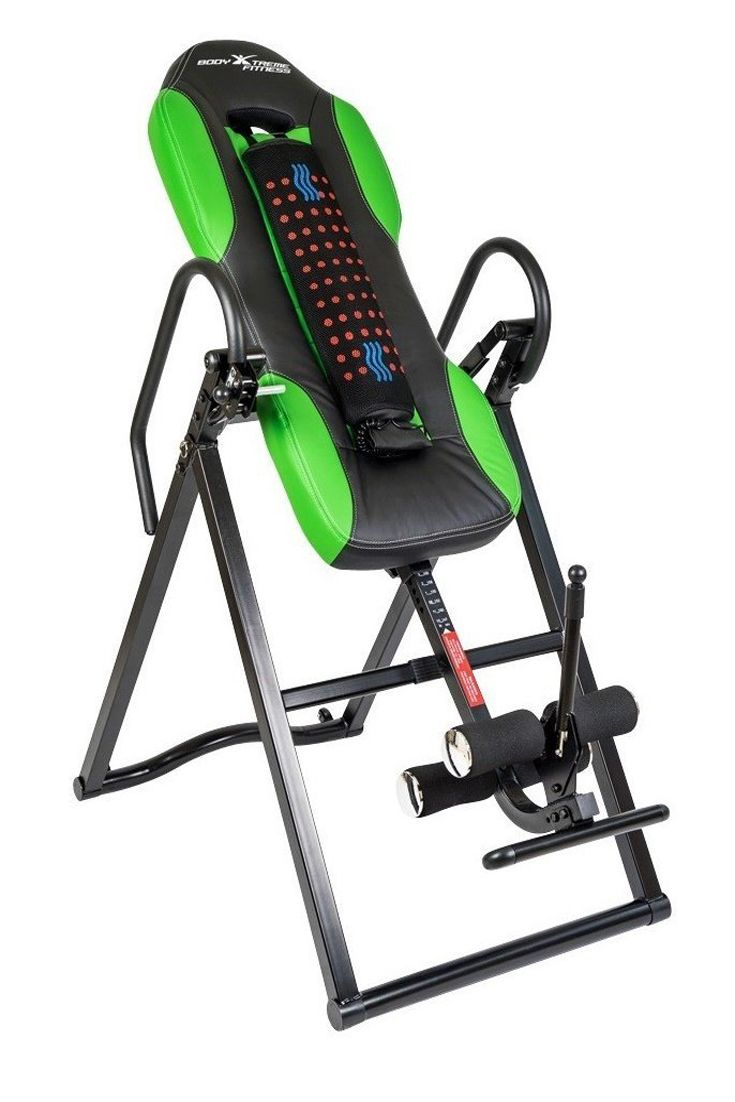 Body xtreme fitness inversion table advanced heat and