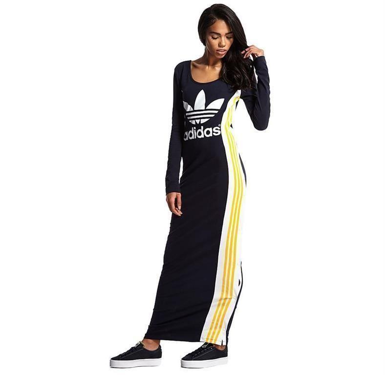 f8b870dcd4a Annons på Tradera: Långklänning från ADIDAS originals/Rita Ora (maxi-dress, klänning,junkyard)