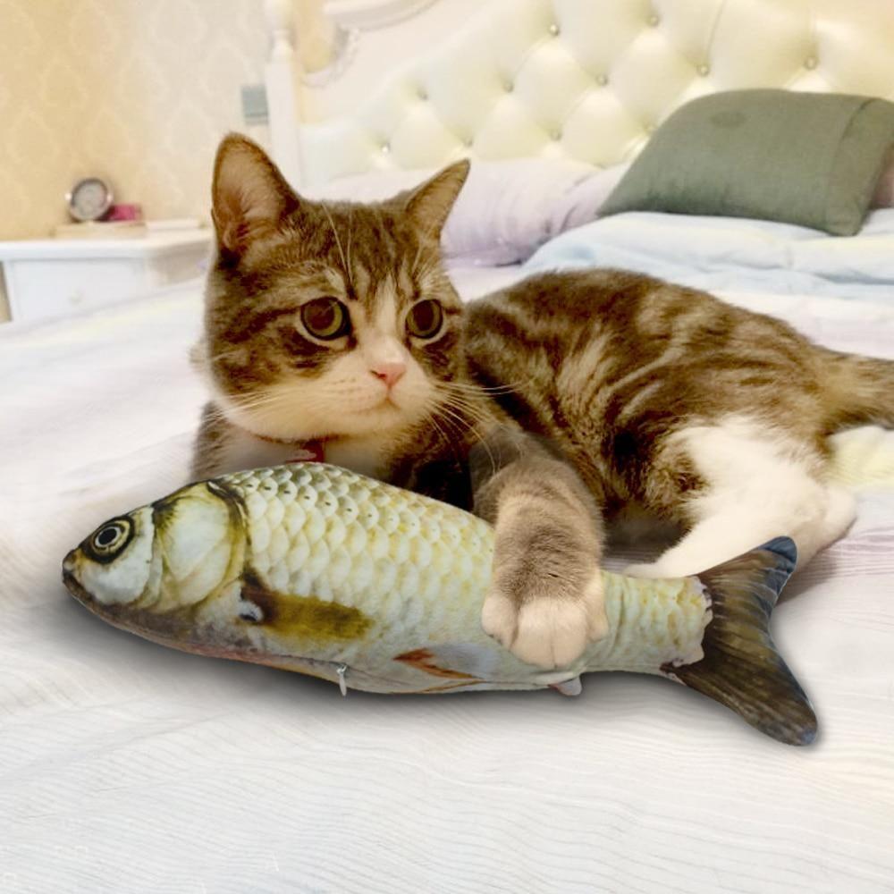 Catnip Fish Toy With Images Cat Toys Cat Plush