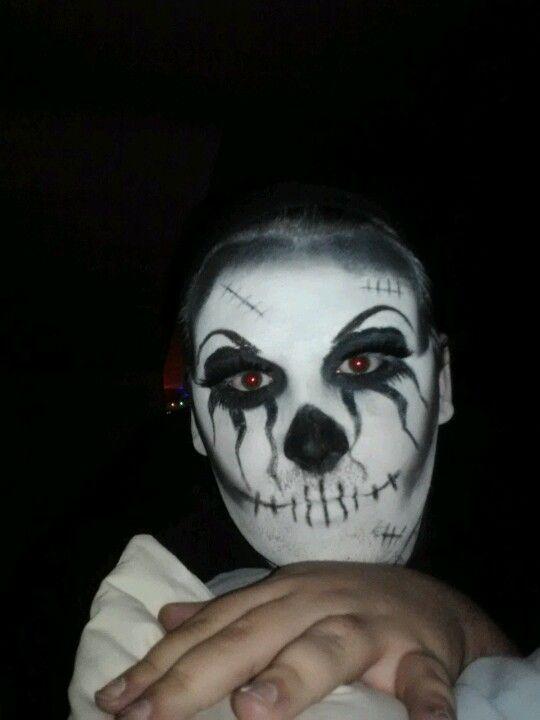 Fun Halloween make-up