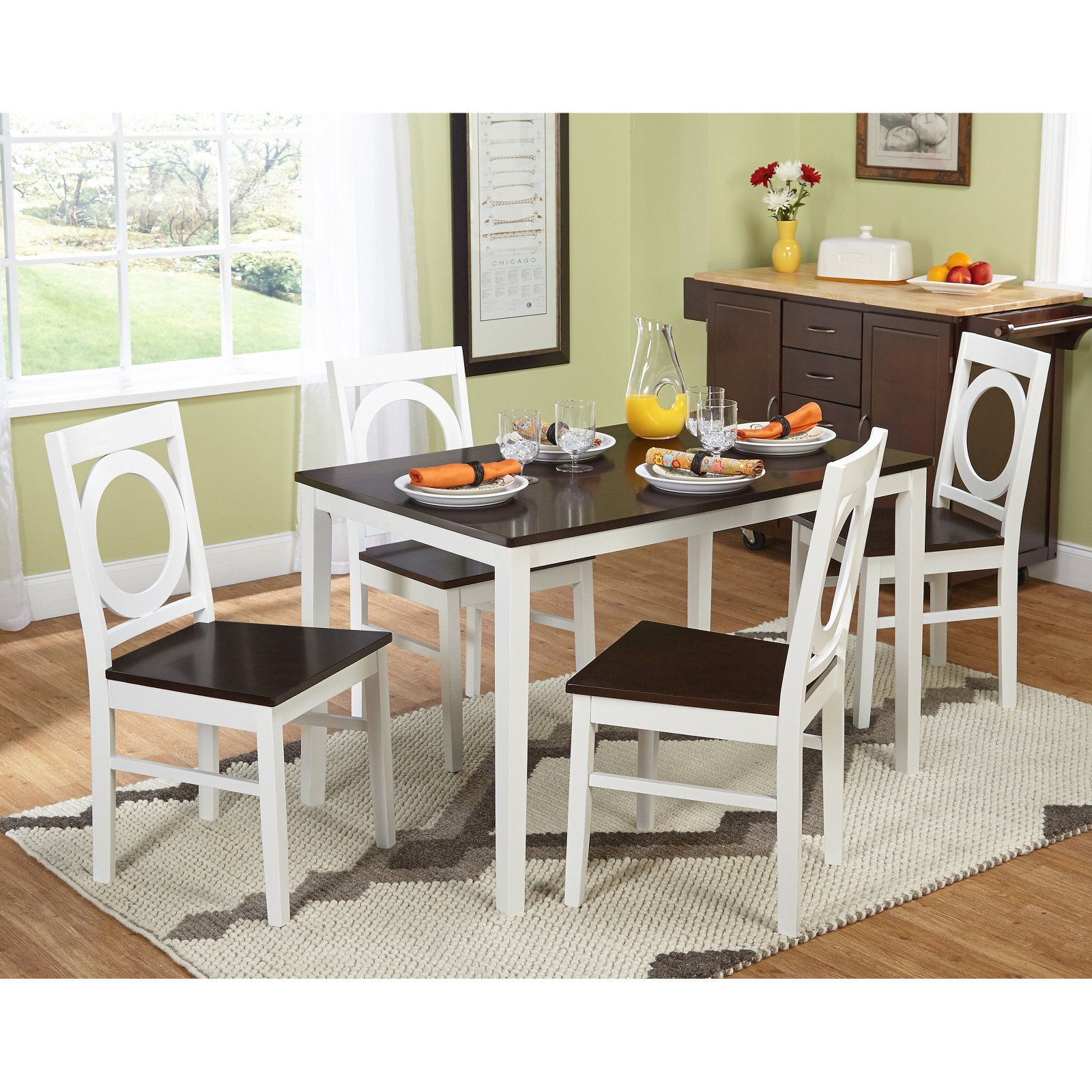 Target Marketing Systems Catania 5 Piece Dining Table Set In 2019